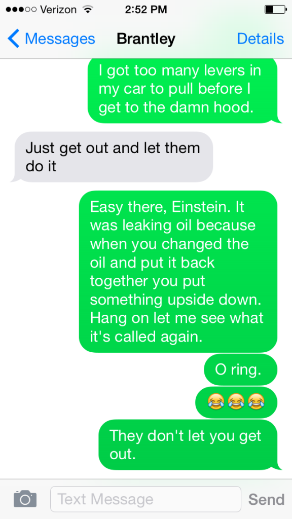 Operation Oil Change